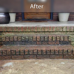Sinking stairs repaired with PolyLevel® Memphis
