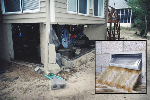 Foundation Flood Vents Smart Vent Flood Protection Vents