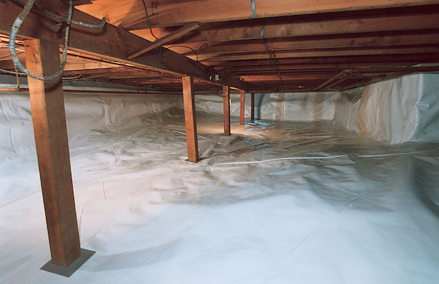 Crawl Space Vapor Barrier in Tennessee, Mississippi and Arkansas