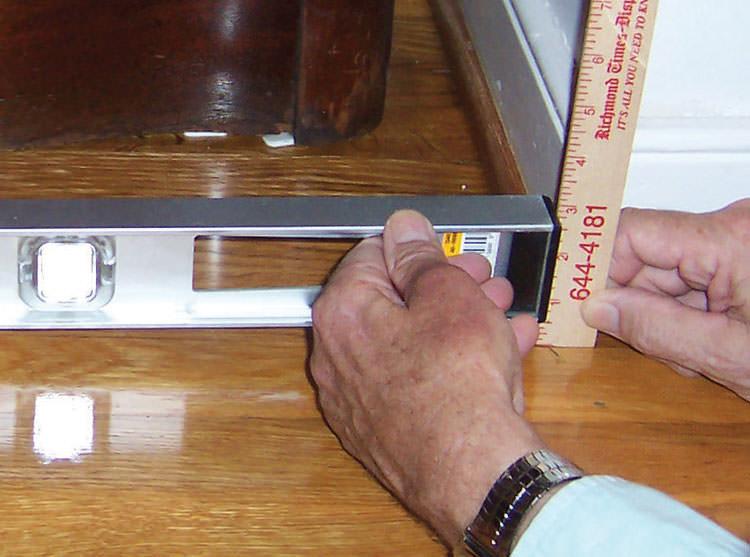 Sinking uneven floor repair in tennessee mississippi for Hardwood floors jackson tn
