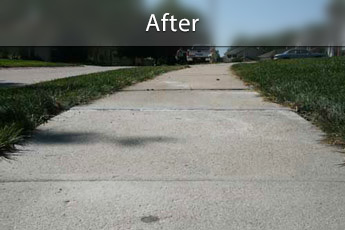 Fixing sunken concrete with PolyLevel® in Memphis