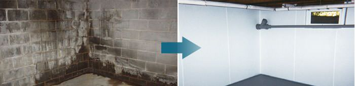 Basement Waterproofing in TN, MS, and AR, including Jackson, North Little Rock & Memphis.