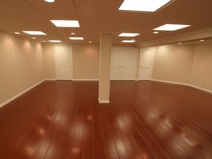 Wood Basement Flooring Millcreek